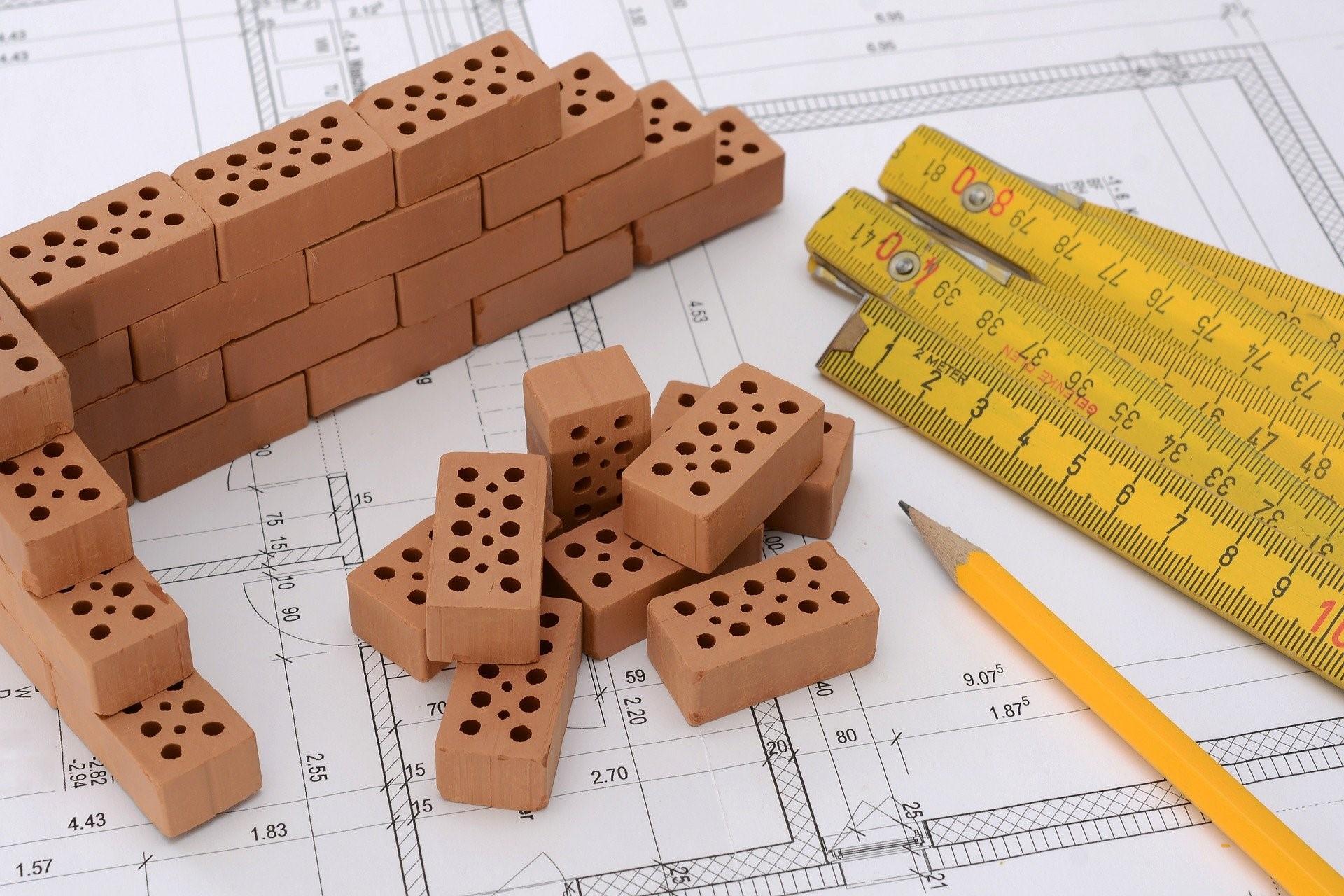 Grundstück finanzieren Bauplan